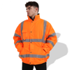 Picture of General Workwear Fluorescent Parka with Reflective Tape FP1656