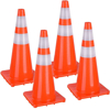 Picture of Road Safety PVC Traffic Cones