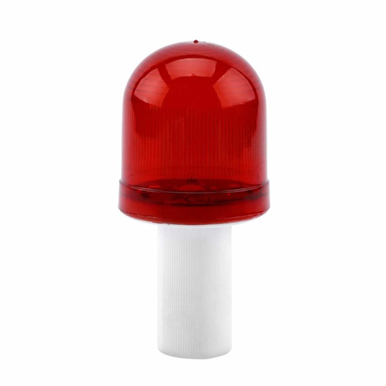 Picture of Road Hazard Warning Red Traffic Cone LED Emergency Light