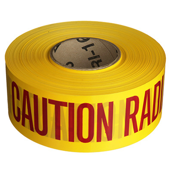 Picture of Radiography Caution Safety 100 Meter Tape