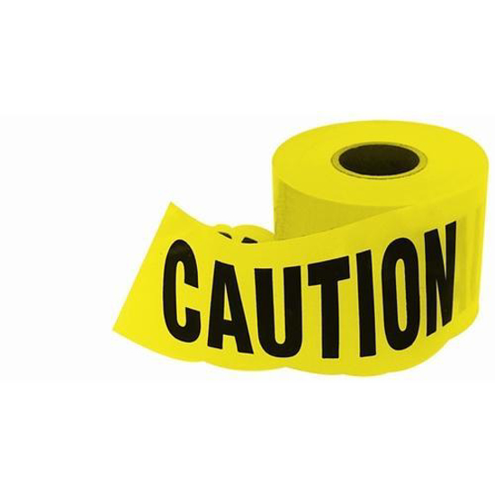 Picture of Yellow Caution 6 Inch Caution Tape