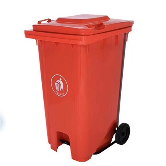 Picture of XDL-240U-Red Dustbin with Pedal