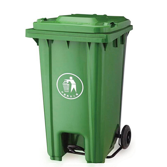 Picture of XDL-240U-Green Dustbin With Pedal