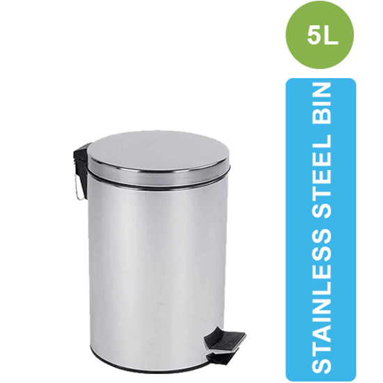 Picture of ASD-05-5L Steel Pedal Dustbin